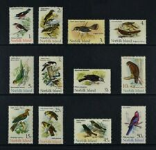 NORFOLK ISLAND, QEII, 1970 / 71, 12 stamps from set to 50c. value, UM, Cat £9.