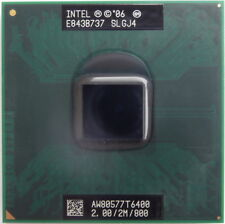 Intel Laptop Core 2 Duo 2.0GHz Mobile Processor CPU T6400 SLGJ4