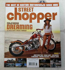 STREET CHOPPER Magazine CALIFORNIA DREAMING Project Panhead INDIAN Spr Sum 2016