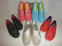 NWT $50 Womens KEDS Champion, Oxford, or Damask Sneaker: Blue Red Black Stone