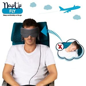 NapUp Fly - Your Personal In-Flight Comfort Zone Head Support Pillow
