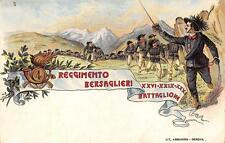 X909) SAN REMO (IMPERIA) 4 REGGIMENTO BERSAGLIERI, 26-29-31 BATTAGLIONE.