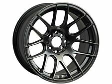 17X7 XXR 530 WHEELS 5X100/114.3 +35MM CHROMIUM BLACK RIM FITS ACURA RSX TSX TL