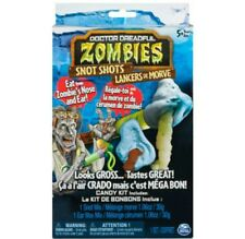 *NEW* Doctor Dreadful Zombies Lab Snot Shots Edible Candy Kit Expires 2020