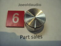 Kenwood KR 9600 Speaker or Selector Knob Has Scratches. Parting Out KR 9600