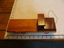 Vintage Wooden WWII Truck from Educational Playthings, VICTORY LINE, htf USA