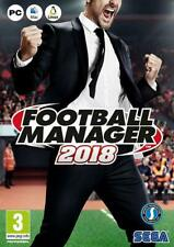 FOOTBALL MANAGER 2018 JEU PC NEUF VERSION FRANCAISE