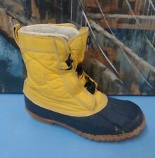 ROFFE DUCK Women's Leather & Rubber Winter Snow Boots SIze 6