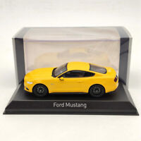 1:43 Norev Ford Mustang GT 2014/2015 Diecast Limited Edition Yellow