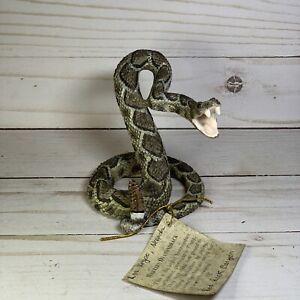 American Legacy southwest wildlife collection diamondback statue Snake figure Q
