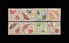 Cameroun, Sc #J34-49, MNH, 1963, Flowers, Triangles, Postage Due, AR5EHD