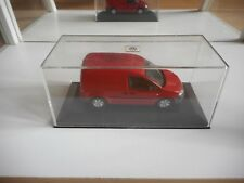 Minichamps VW Volksagen Caddy 2005 in Red on 1:43 in Box