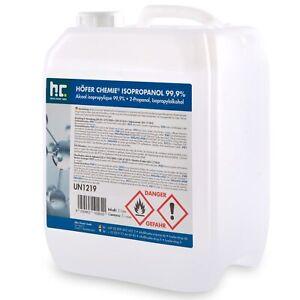 5 Liter Isopropanol 99,9% 2-Propanol Isopropylalkohol IPA Reiniger