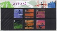 GB Presentation Pack 349 2003 Scotland British Journey 10% OFF 5