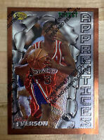 1996-97 Topps Finest #69 Allen Iverson RC Rookie HOF 🔥