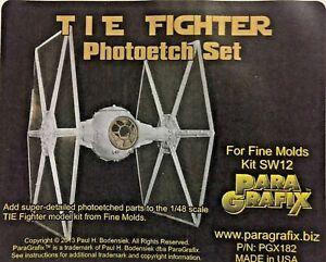 PARAGRAFIX PGX182 1/48 TIE Fighter Photo-Etch Set for Fine Molds SW12