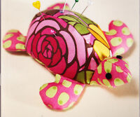 PATTERN - Turtle Pincushion - fun sewing accessory or softie toy PATTERN