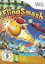Nintendo Wii Fling Smash * Party incl. 8 mini juegos usados/como nuevo
