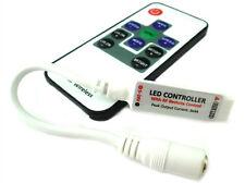 Mini Controller Bobina Led RGB Con Telecomando Wireless 12V 24V 6A Fino A 40 Met