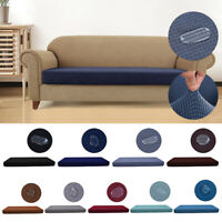 1-4Seats Sofa Seat Cushion Cover Couch Replacement Protector Waterproof Stretchy