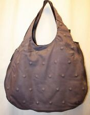 NEW BCBG MAX AZRIA PURPLE LEATHER HOBO HAND-BAG PURSE PDHL390 SIZE NS