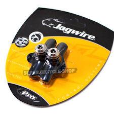 Jagwire Elite Pro Road non-Skeleton Brake Shoes pads Campagnolo , Black