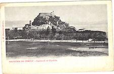 Grèce - cpa - Souvenir de CORFOU - Esplanade et citadelle