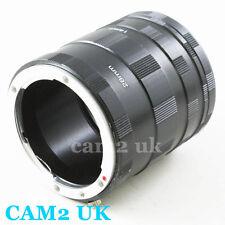Macro Extension Tube Adapter Ring for Nikon F mount D5300 D610 D800 D4S Df D750