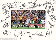 #T78. Rugby Union Autographs (19) - 1997 England