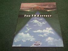 August 1985 FORD Australia TX5 & GHIA - 14 PAGE COLOUR BROCHURE Telstar
