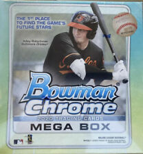 OAKLAND ATHLETICS 2020 BOWMAN CHROME MEGA BOX 5 BOX - 1/4 CASE BREAK #8