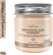 Friego 100% Pure Bentonite Clay Powder, 100 g / 3.4 Oz.