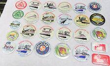 26 Railroad Excursion Convention Exhibition Pins Buttons-Rr-train-Lancaste r Pa.