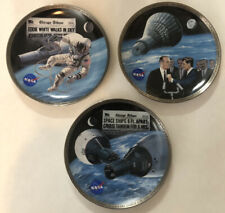 America's Triump In Space Nasa Limited Edition Porcelain Plates - Set of 3