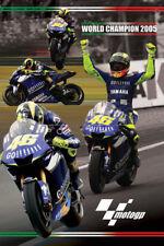VALENTINO ROSSI MotoGP 2005 Champion Yamaha Motorcycle Racing Classic POSTER