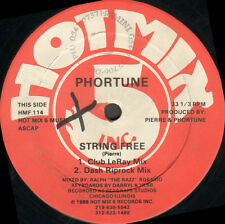 PHORTUNE - String Free / Can You Feel The Bass - 1988 Hot Mix 5 Usa - HMF 114