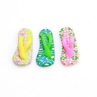 20pcs 112428 Wholesale Flip-Flops Mixed FIMO Polymer Clay Beads Charms Fit DIY