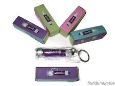 Brand New SCENTSY CONSULTANT SUPPLIES Mini Keychain Purple Flashlight w/logo