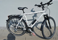Herren Trekkingrad Fahrrad Shimano Steppenwolf Tao Light Man weiss Rahmenh 55
