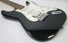 Fender Starcaster Electric Guitar Arrowhead Headstock Metallic Black - NICE!
