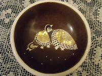 WAYLANDE GREGORY Cowan Pottery Decorated Small Bowl Signed by Artist