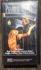 Phantom Of The Opera Volume 1 VHS (1989) VGC Starring Lancaster, Cassel Etc.