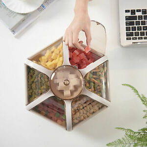 AU_ Durable Box Lotus Shape Smooth PP Fruit Box for Household