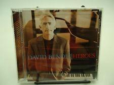 Heroes David Benoit CD 2008 Like-New