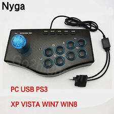 Arcade Game Fighting Joystick USB Controller Mame Street Fighter IV Fr PS3 Gamin