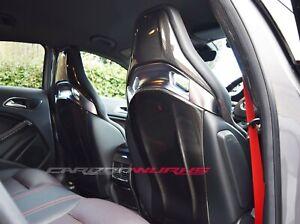 Mercedes Benz Carbon Fibre Seat Back Covers - A45 - CLA45 - GLA45 - 100% Carbon