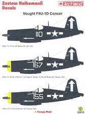 Techmod Decals 1/32 VOUGHT F4U-1D CORSAIR Fighter w/Mask