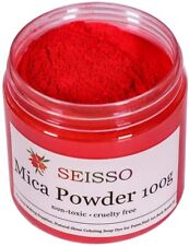 100g - Red Mica Powder Pigment Pure Pearl Epoxy Resin for DIY - FREE SHIPPING!!