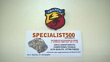 FIAT  500-  126 TOPPE   X SELLERIE SPORTIVE  ABARTH