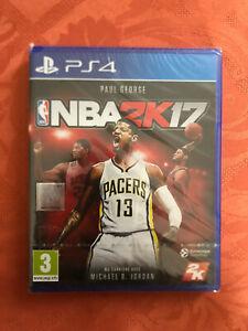NBA 2K17 (Basket 2017) PS4 Playstation 4 TAKE TWO INTERACTIVE